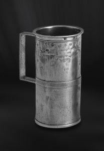 Messbecher aus Zinn mit Henkel (Art.171)