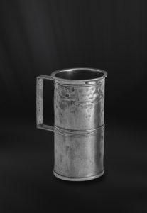 Messbecher aus Zinn mit Henkel (Art.174)