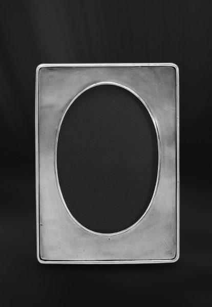 Ovaler Bilderrahmen aus Zinn (Art.486)