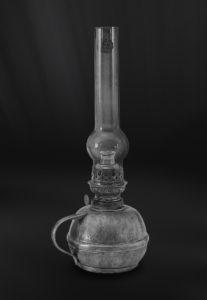 Petroleumlampe aus Zinn - Lampe aus Zinn (Art.203)