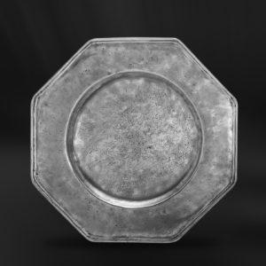 Platzteller aus Zinn (Art.215)