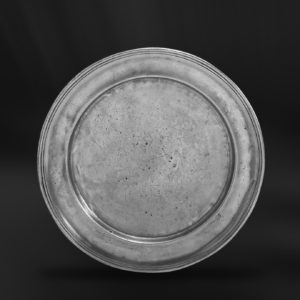 Platzteller aus Zinn (Art.294)
