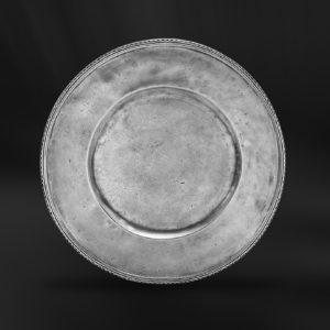 Platzteller aus Zinn (Art.423)