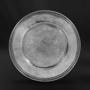 Platzteller aus Zinn (Art.463)