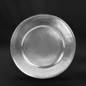 Platzteller aus Zinn (Art.518)