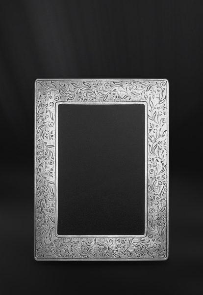 Rechteckiger Bilderrahmen aus Zinn - Bilderrahmen aus Zinn 10x15 (Art.748)