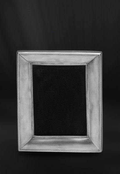 Rechteckiger Bilderrahmen aus Zinn - Bilderrahmen aus Zinn 13x18 (Art.555)