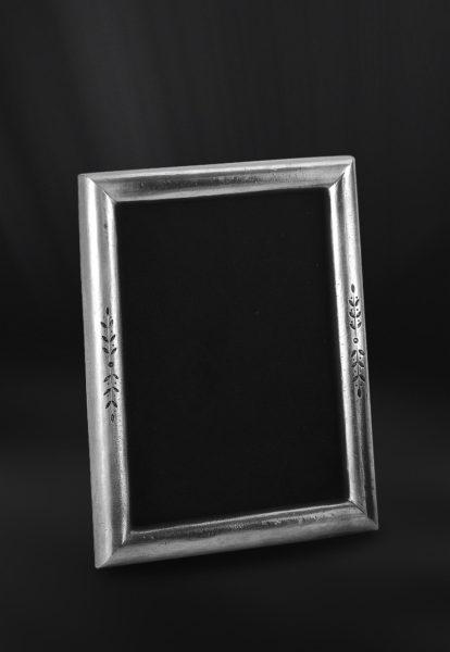 Rechteckiger Bilderrahmen aus Zinn - Bilderrahmen aus Zinn 13x18 (Art.665)