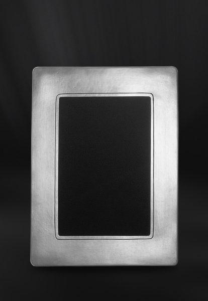 Rechteckiger Bilderrahmen aus Zinn - Bilderrahmen aus Zinn 13x18 (Art.742)