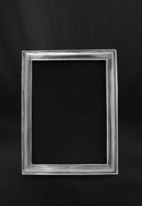 Rechteckiger Bilderrahmen aus Zinn - Bilderrahmen aus Zinn 13x18 (Art.861)