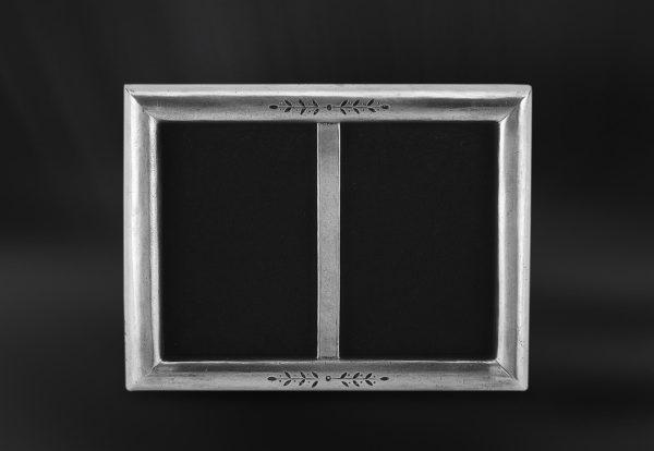 Rechteckiger Bilderrahmen aus Zinn (Art.672)
