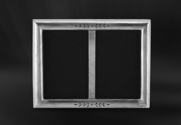 Rechteckiger Bilderrahmen aus Zinn (Art.673)