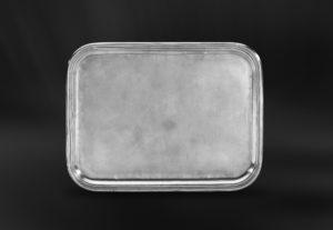 Rechteckiges Tablett aus Zinn - Rechteckiges Zinntablett (Art.568)