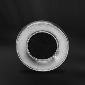Runder Bilderrahmen aus Zinn - Bilderrahmen aus Zinn ø9 (Art.559)