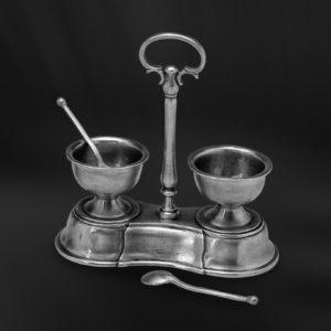 Salz und Pfefferstreuer Set aus Zinn (Art.497)