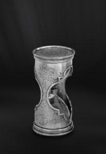 Sanduhr aus Zinn (Art.324)