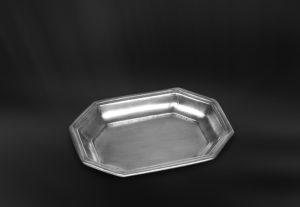 Seifenschale aus Zinn - Badaccessoire aus Zinn (Art.800)