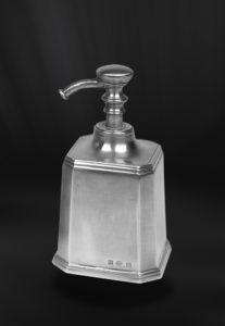 Seifenspender aus Zinn - Badaccessoire aus Zinn (Art.803)
