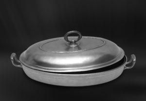 Servierschale aus Zinn für Auflaufformen (Art.761)