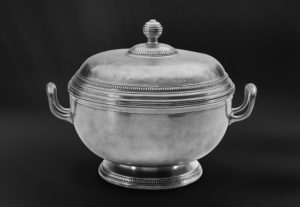 Suppenschüssel aus Zinn (Art.529)