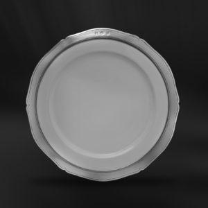 Teller aus Keramik und Zinn (Art.790)