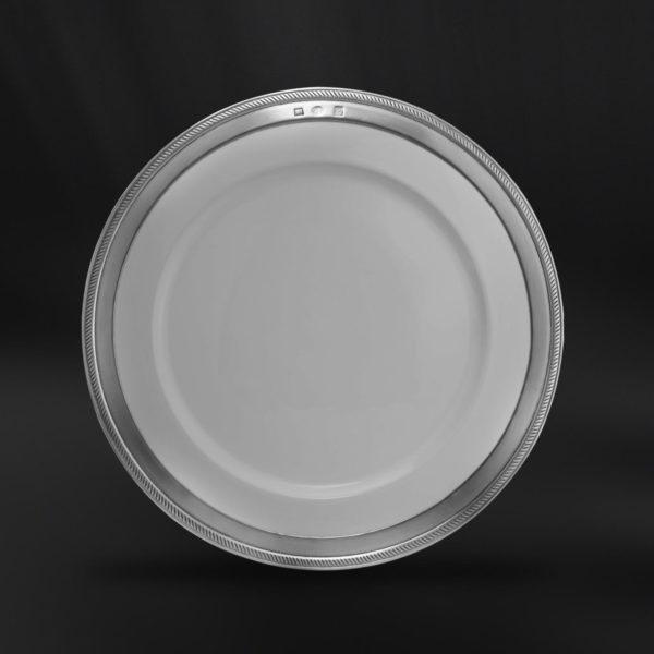 Teller aus Keramik und Zinn (Art.850)