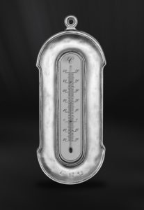 Thermometer aus Zinn (Art.598)