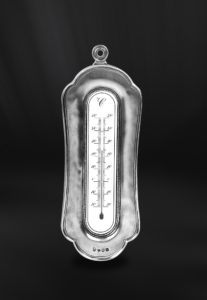 Thermometer aus Zinn (Art.768)
