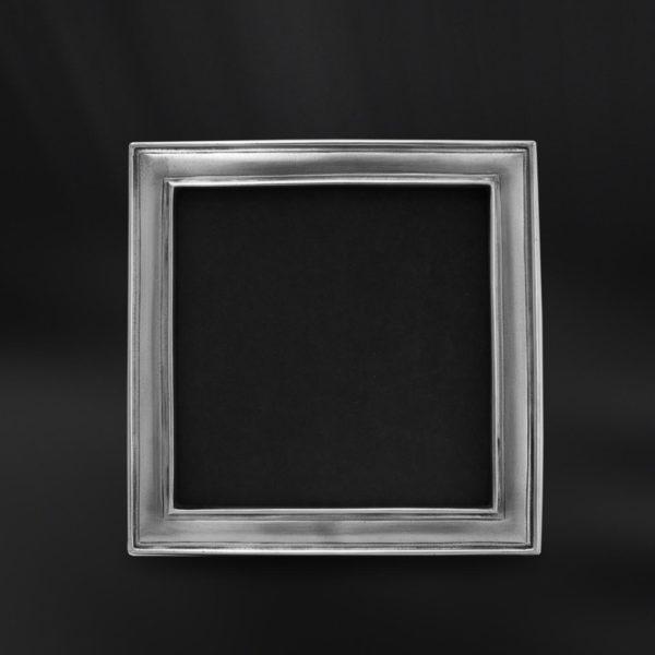 Viereckiger Bilderrahmen aus Zinn - Bilderrahmen aus Zinn 12x12 (Art.864)