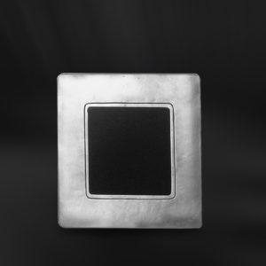 Viereckiger Bilderrahmen aus Zinn - Bilderrahmen aus Zinn 6,5x6,5 (Art.744)