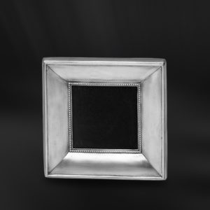 Viereckiger Bilderrahmen aus Zinn - Bilderrahmen aus Zinn 6x6 (Art.557)