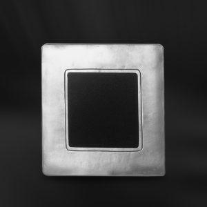 Viereckiger Bilderrahmen aus Zinn - Bilderrahmen aus Zinn 9x9 (Art.745)
