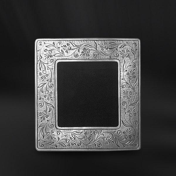 Viereckiger Bilderrahmen aus Zinn - Bilderrahmen aus Zinn 9x9 (Art.752)