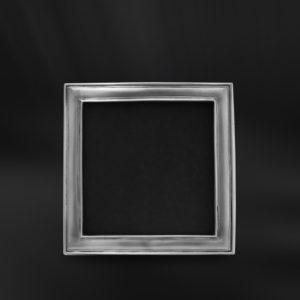 Viereckiger Bilderrahmen aus Zinn - Bilderrahmen aus Zinn 9x9 (Art.863)
