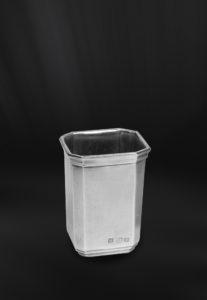 Zahnputzbecher aus Zinn - Badaccessoire aus Zinn (Art.802)