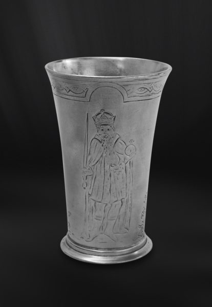 Zinnbecher - Bierbecher aus Zinn (Art.400)