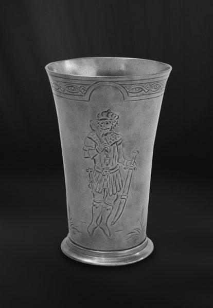 Zinnbecher - Bierbecher aus Zinn (Art.402)