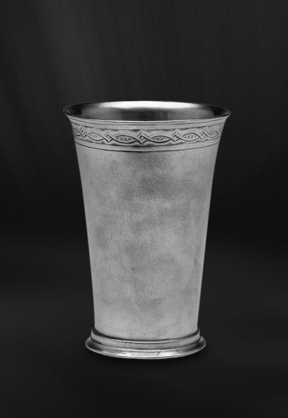 Zinnbecher - Bierbecher aus Zinn (Art.532)