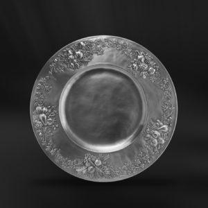 Zinnteller - Teller aus Zinn (Art.527)