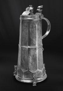 Zunftkrug aus Zinn - Bierkrug aus Zinn (Art.398)