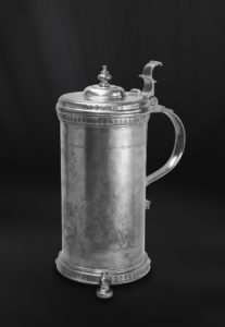 Zunftkrug aus Zinn - Bierkrug aus Zinn (Art.478)