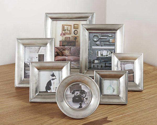 Zinn bilderrahmen - Zinn fotorahmen (553-554-555-556-557-558-559)